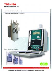 Voltage Regulator Control