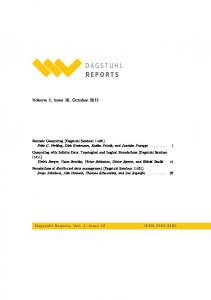 Volume 1, Issue 10, October 2011