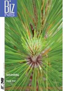 Volume 1, Issue 2 March April Sustainability