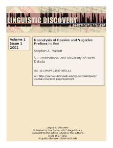 Volume 1 Issue