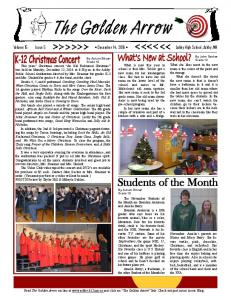Volume 15 Issue 5 December 14, 2016 Ashby High School, Ashby, MN