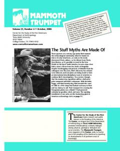 Volume 23, Number 4 October, 2008