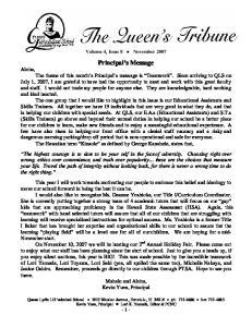 Volume 4, Issue 8 November 2007