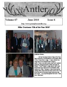 Volume 67 June 2010 Issue 6