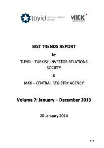 Volume 7: January December 2013