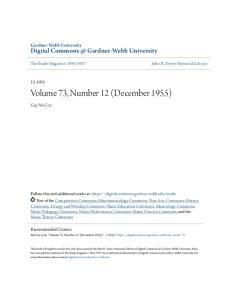 Volume 73, Number 12 (December 1955)