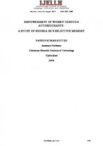 Volume II, Issue IV, August ISSN