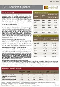 Volume (USD mn) Central Bank of Oman (bond) 3.0% 779 OMR August x Central Bank of Republic of Turkey (sukuk)