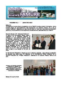 VOLUMEN Nro. 1 - JUNIO DEL 2009