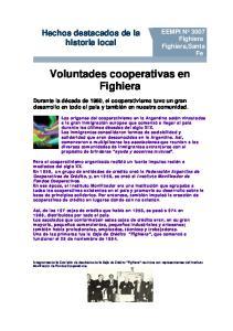 Voluntades cooperativas en Fighiera