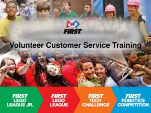 Volunteer Customer Service Training