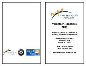 Volunteer Handbook 2009