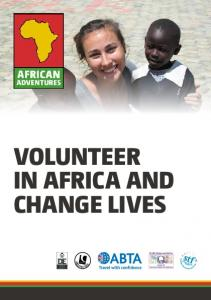 VOLUNTEER IN AFRICA AND CHANGE LIVES