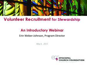 Volunteer Recruitment for Stewardship