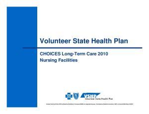 Volunteer State Health Plan