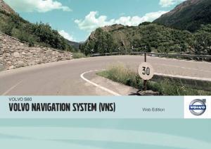 VOLVO NAVIGATION SYSTEM (VNS)