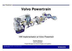 Volvo Powertrain. Volvo Powertrain