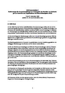 Vom 07. September 2009 (GMBl. Nr. 39 vom S. 803)