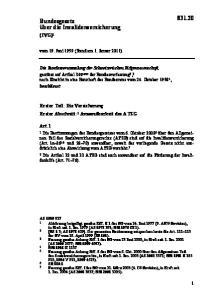 vom 19. Juni 1959 (Stand am 1. Januar 2011)