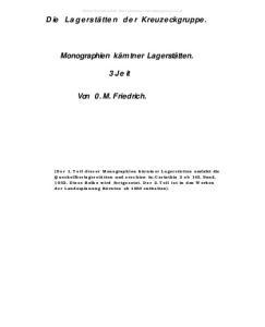 Von 0. M. Friedrich