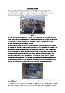 Von Anfang an dabei. Audi Q5