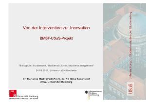Von der Intervention zur Innovation