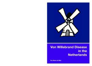 Von Willebrand Disease in the Netherlands