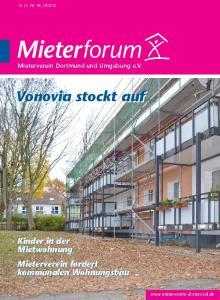 Vonovia stockt auf. Kinder in der Mietwohnung Mieterverein fordert kommunalen Wohnungsbau. Mieterverein Dortmund und Umgebung e.v