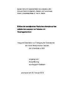 vorgelegt von Anika Worring aus Bergisch-Gladbach