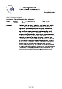 Vorlesungsverzeichnis (Politik, Wirtschaft und Gesellschaft)