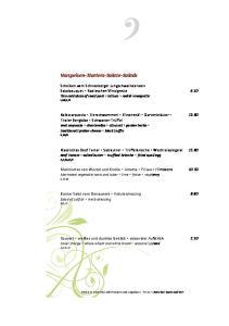 Vorspeisen Starters Salate Salads