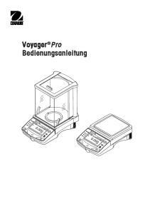 Voyager Pro Bedienungsanleitung