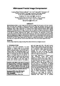 VSA-based Fractal Image Compression