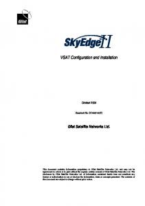VSAT Configuration and Installation
