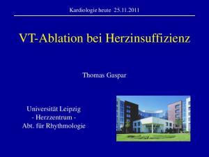 VT-Ablation bei Herzinsuffizienz