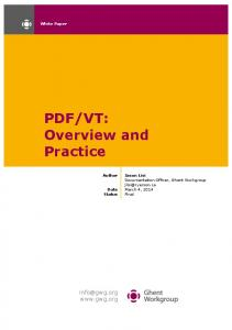 VT: Overview and Practice