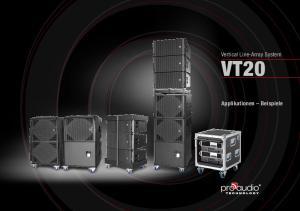 VT20 Applikationen Beispiele