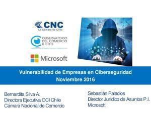 Vulnerabilidad de Empresas en Ciberseguridad Noviembre 2016