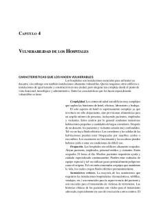 VULNERABILIDAD DE LOS HOSPITALES