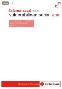 vulnerabilidad social 2010