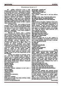W malowanej skrzyni cz. II