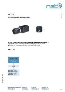 W USB Camera series