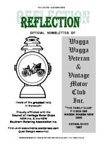 Wagga Wagga Veteran & Vintage Motor Club Inc