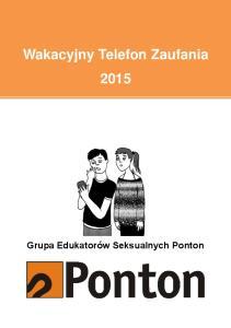 Wakacyjny Telefon Zaufania 2015