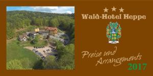 Wald-Hotel Heppe. Preise und Arrangements 2017
