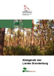 Waldgesetz des Landes Brandenburg