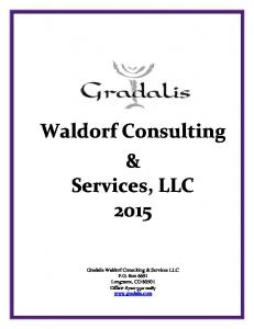 Waldorf Consulting & Services, LLC 2015
