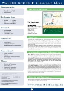WALKER BOOKS Classroom Ideas
