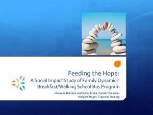 Walking School Bus Program