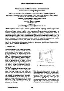 Wall Thickness Measurement of Colon Based on Ultrasound Image Segmentation